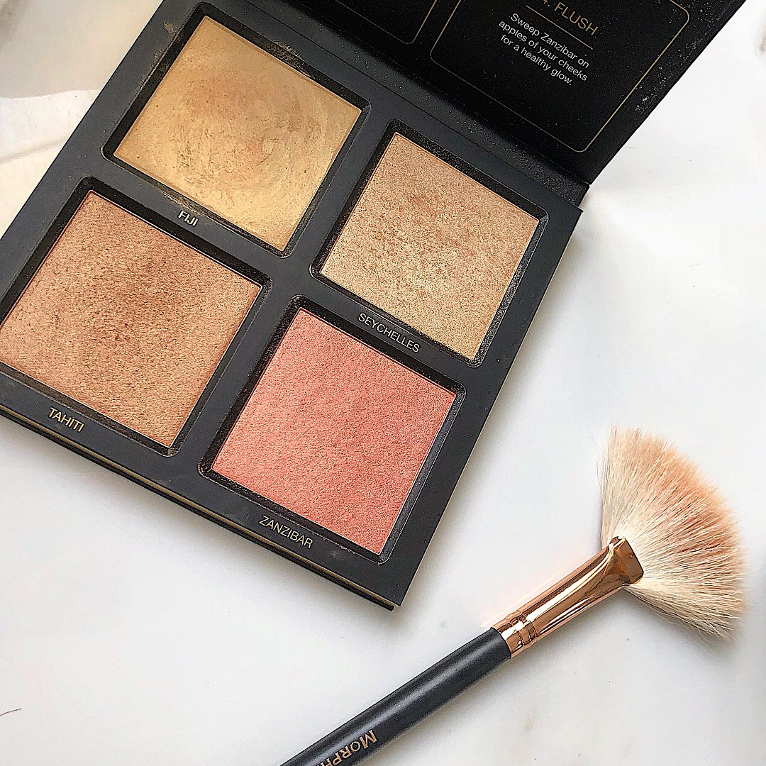 Huda Beauty 3d Gold Sand Edition Palette Review